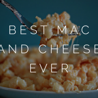 Macaroni and cheese is a staple during the holiday…